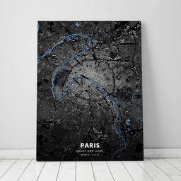 Leinwand von Paris im Stil Architekt