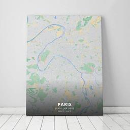 Leinwand von Paris im Stil Atlas