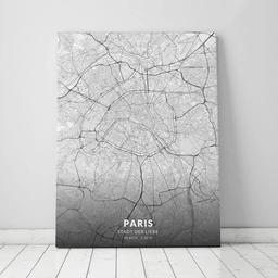 Leinwand von Paris im Stil Elegant
