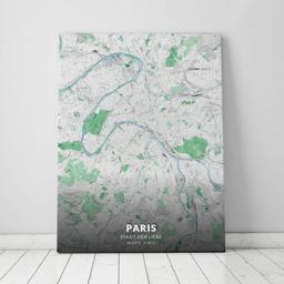 Leinwand von Paris im Stil Gentle