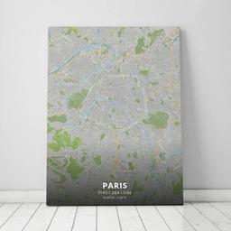 Leinwand von Paris im Stil Greenfield