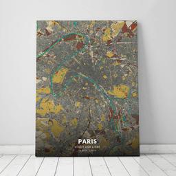 Leinwand von Paris im Stil Herbst