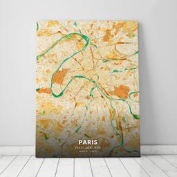 Leinwand von Paris im Stil Moody