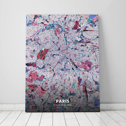 Leinwand von Paris im Stil Primavera