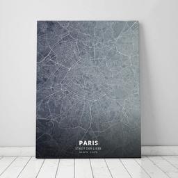 Leinwand von Paris im Stil Titan
